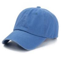 百塔棒球帽潮韩版帽子男女士嘻哈做旧水洗牛仔鸭舌帽