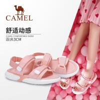 camel骆驼女鞋2019夏季新款ins潮休闲网红平底沙滩鞋女舒适运动凉鞋女