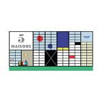 5栋大师设计的建筑 5 maisons 法语原版立体书 儿童启蒙 开发思维 建筑纸模型便携博物馆