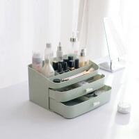 化妆品收纳盒 梳妆台护肤品收纳架化妆盒置物架塑料大抽屉式整理盒
