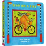 英文原版 Bear on a Bike 比尔熊骑自行车 纸板书 Barefoot
