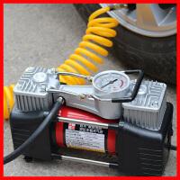 车载充气泵 双缸高压汽车用轮胎电动打气棒12v多功能德国小轿车冲新品