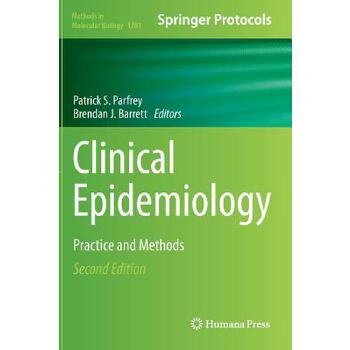 【预订】Clinical Epidemiology: Practice and Methods 预订商品,需要1-3个月发货,非质量问题不接受退换货。