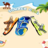 骆驼儿童凉鞋男童鞋子夏中大童2019新款女童沙滩鞋小童包头鞋软底