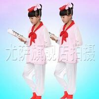 儿童书童服装少儿国学汉服弟子规男女童古代读书郎三字经演出服