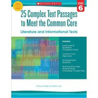 25 Complex Text Passages to Meet the Common Core: Literatur