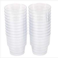 家来纳 一次性水杯 航空杯 塑料杯 SC0804 220ml 20只/包