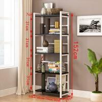 客厅置物架落地简易书架多层阳台收纳架卧室储物厨房杂物架可移动 五层80长 颜色留言备注 0层