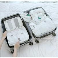 旅行收纳袋 旅游行李箱衣物整理袋衣服收纳包套装大容量行李袋