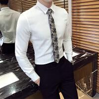 新郎结婚窄领带男休闲潮流伴郎红色领带商务男士领带时尚发型师潮