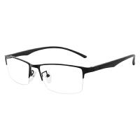 防蓝光眼镜男女商务平光镜无度数防辐射手机电脑护眼睛近视眼镜框