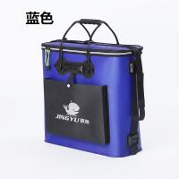 加厚EVA折叠双层防水鱼护包鱼护桶养鱼箱装鱼桶钓箱钓鱼桶渔具包