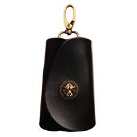 手工男士钥匙包复古头层植鞣革汽车钥匙套简约个性女士钥匙包