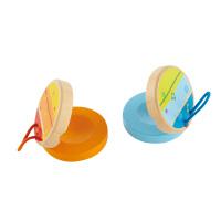 Hape早旋律响板1-2岁早旋律音律木制儿童玩具E0311