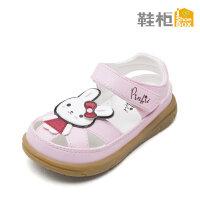 SHOEBOX/鞋柜 夏季新款 甜美可爱凯蒂猫儿童宝宝鞋卡通学步鞋凉鞋