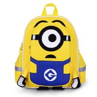 神偷奶爸大眼萌小黄人书包幼儿园宝宝3-5岁1-2年级儿童书包小学生双肩背包