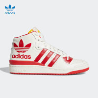 adidas阿迪达斯2019新款男女 FORUM MID 三叶草系列潮流高帮休闲鞋G28153