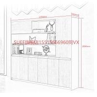 文件柜木质背景柜书柜家具办公室档案资料柜加厚办公柜子储物柜 肯丁木色 250mm
