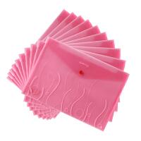 齐心A1707S-KA办公用品 塑料文件袋 **袋 按扣资料袋 试卷袋
