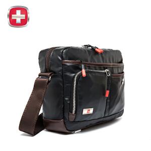 瑞士军刀 时尚休闲单肩包斜挎包商务男士背包潮SA9806