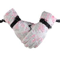 滑雪手套男女款单双板防风防水保暖冬季户外棉手套骑行电动车手套