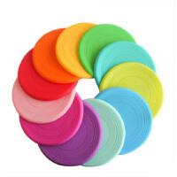 硅胶飞盘儿童软飞碟幼儿园小学生户外运动小孩安全玩具多色可选