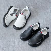 春秋季儿童黑皮鞋中大童男童单鞋小学生软底休闲鞋男宝宝鞋子