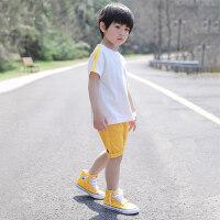男童T恤1夏季宝宝半袖男3岁童装夏装2018新款潮4儿童上衣宝宝短袖