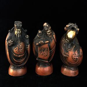 福禄寿铜摆件