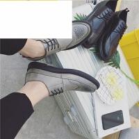 潮牌2017新款男鞋潮英伦布洛克男士雕花皮鞋韩版潮男复古低帮休闲鞋子