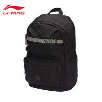 李宁双肩包男包女包2019新款运动生活系列背包书包电脑包运动包ABSP142
