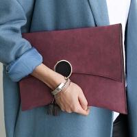 春秋新款手抓包韩版单肩斜挎链条包宴会包女士手拿包信封包包