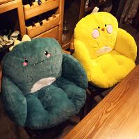 学生座垫地上懒人榻榻米坐垫靠垫一体办公室久坐椅子座椅屁股椅垫