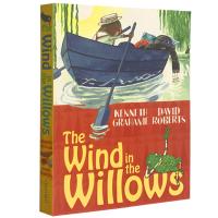 现货正版 The Wind in the Willows 柳林风声 英文原版 彩色插图典藏版 经典儿童文学童话故事书 英