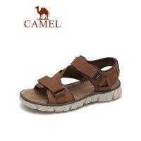 camel骆驼户外休闲凉鞋2019夏季新款防滑耐磨沙滩凉鞋厚底复古百搭男鞋