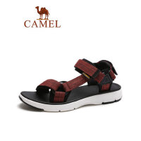 camel骆驼男鞋2019夏季新品户外轻便防滑沙滩凉鞋休闲舒适透气平底凉鞋