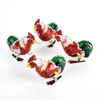 铁皮青蛙玩具小青蛙男女孩儿童宝宝玩具发条上链跳跳蛙小动物弹跳80后怀旧 公鸡 一只