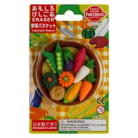 IWAKO ER-BRI048 岩泽趣味橡皮 儿童卡通可爱橡皮创意文具 .蔬菜当当自营