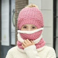 韩版时尚潮韩国保暖针织帽帽子女毛线帽甜美可爱女士帽子