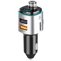 氛围灯车载mp3播放器插卡蓝牙接收器免提电话音乐USB汽车用充电器
