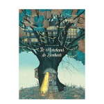 【预订】贩卖快乐的商人 法语原版儿童故事绘本 Le marchand de Bonheur 关于幸福的故事 3-6岁儿童