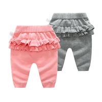婴儿秋冬装女童装打底裤加厚儿童女宝宝中小童外穿针织保暖棉裤子