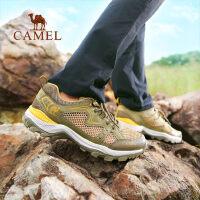 CAMEL骆驼户外男款徒步鞋 透气轻便防滑减震男登山徒步鞋