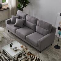 北欧沙发小户型简约现代布艺双人沙发出租房卧室公寓小沙发椅单人