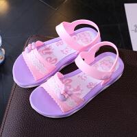 女童凉鞋夏季沙滩鞋儿童塑料凉鞋女孩中小童鞋公主鞋