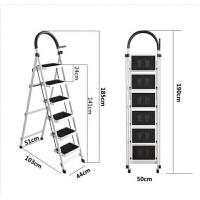 阁楼伸缩楼梯家用伸缩梯半自动复式别墅室内隐形升降折叠伸缩梯子