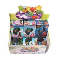 恐龙蛋玩具模型新奇特泡大膨胀变形小玩具创意儿童泡水孵化蛋玩具 特大号动物盒装蛋6个