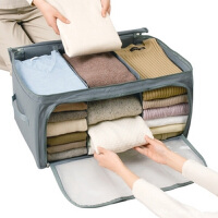 卡秀收纳-高品质竹炭系列可视毛衣收纳箱