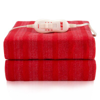 彩虹全线路安全保护调温型电热毯(TB101单人150×70cm) 新老包装颜色*
