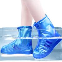 2双 雨鞋套防雨防水男女防滑加厚耐磨底儿童下雨天鞋套时尚韩版